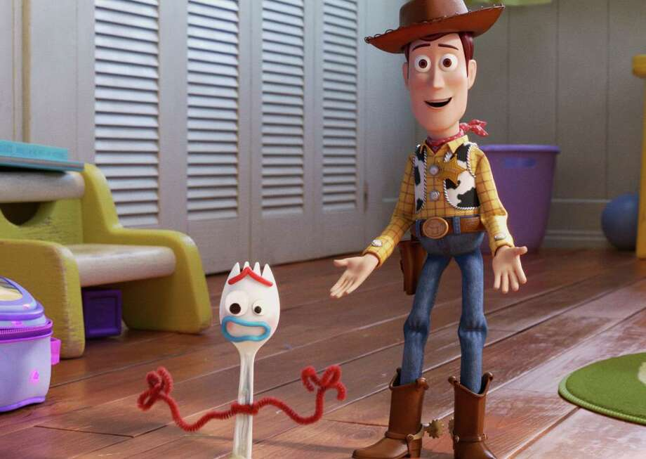 """This undated image provided by Disney/Pixar shows a scene from the movie """"Toy Story 4."""" (Disney/Pixar via AP) Photo: Pixar,  HONS / Associated Press / ©2019 Disney/Pixar. All Rights Reserved."""
