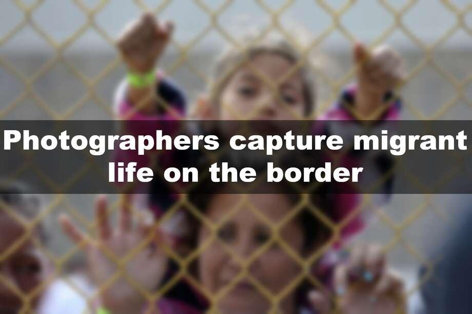 Photographers capture migrant life along the border. Photo: File/San Antonio Express-News
