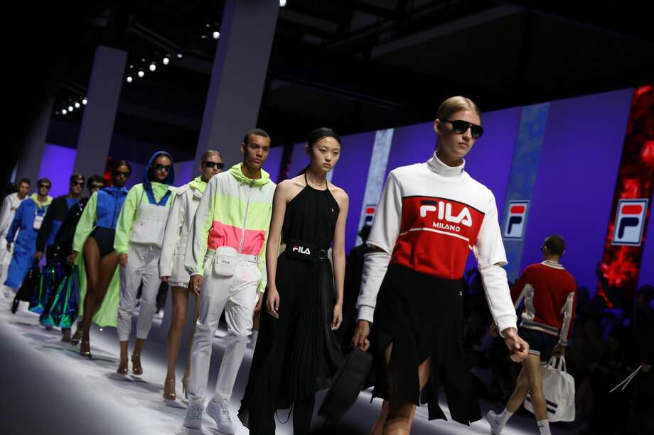 Fila in Milan Fashion Week. Photo: Tristan Fewings/Getty Images
