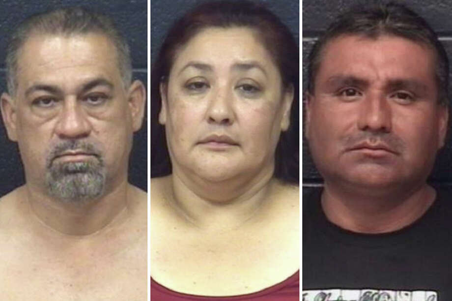 The execution of three search warrants this week yielded several arrests and street-level narcotics seizures, according to Laredo police. Photo: Courtesy