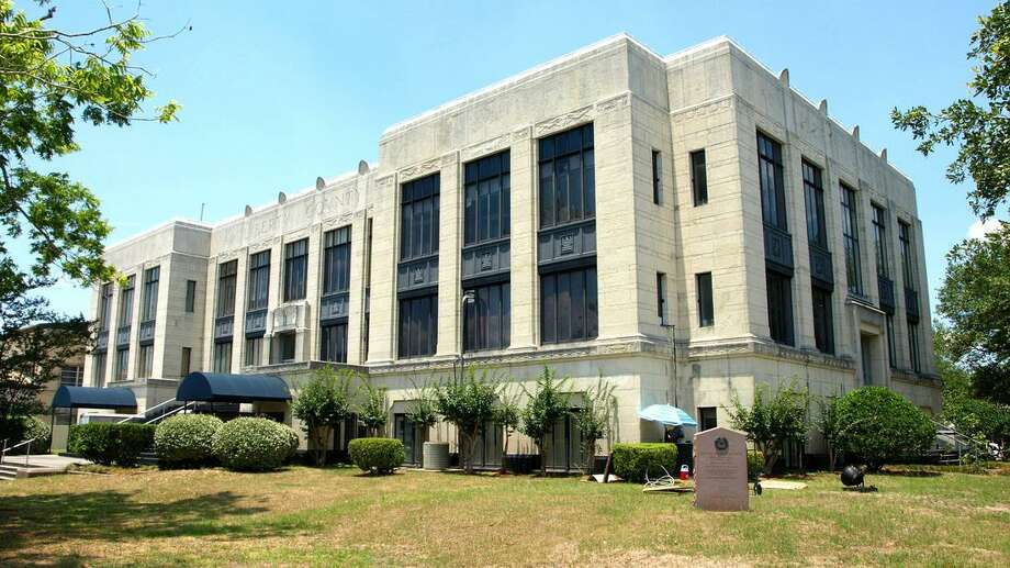 The Liberty County courthouse remains the epicenter of information for the coronavirus CoVID 2019 crisis sweeping the nation. A state of disaster was declared on Friday by County Judge Jay Knight and area cities followed suit. Photo: Submitted