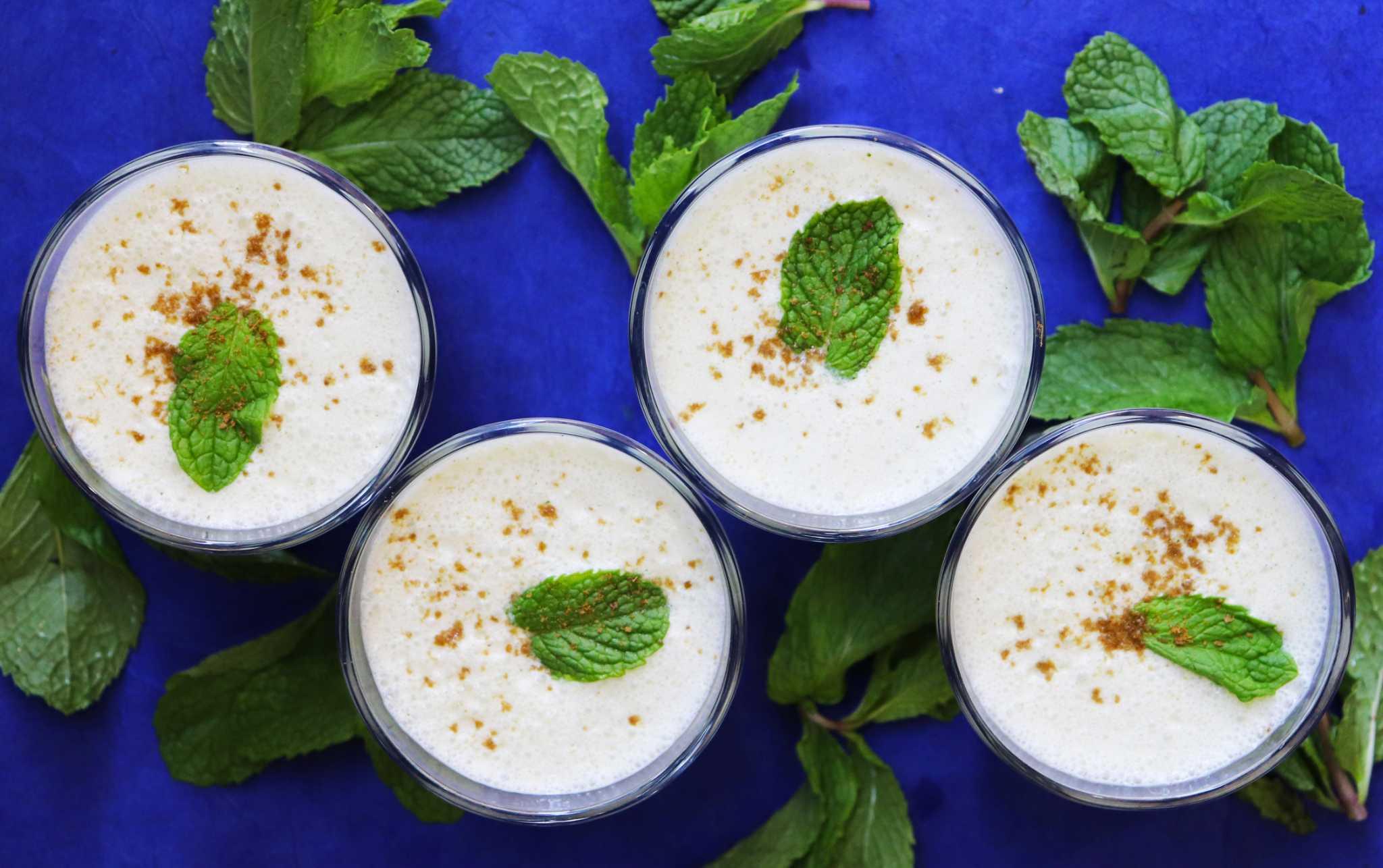 Cool off with Anita Jaisinghani's Ayurveda-minded mint lassi