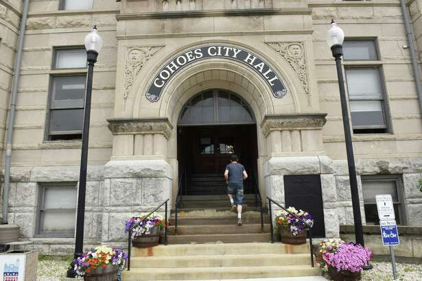 Exterior of Cohoes City Hall on Monday, June 24, 2019 in Cohoes, N.Y. (Lori Van Buren/Times Union)