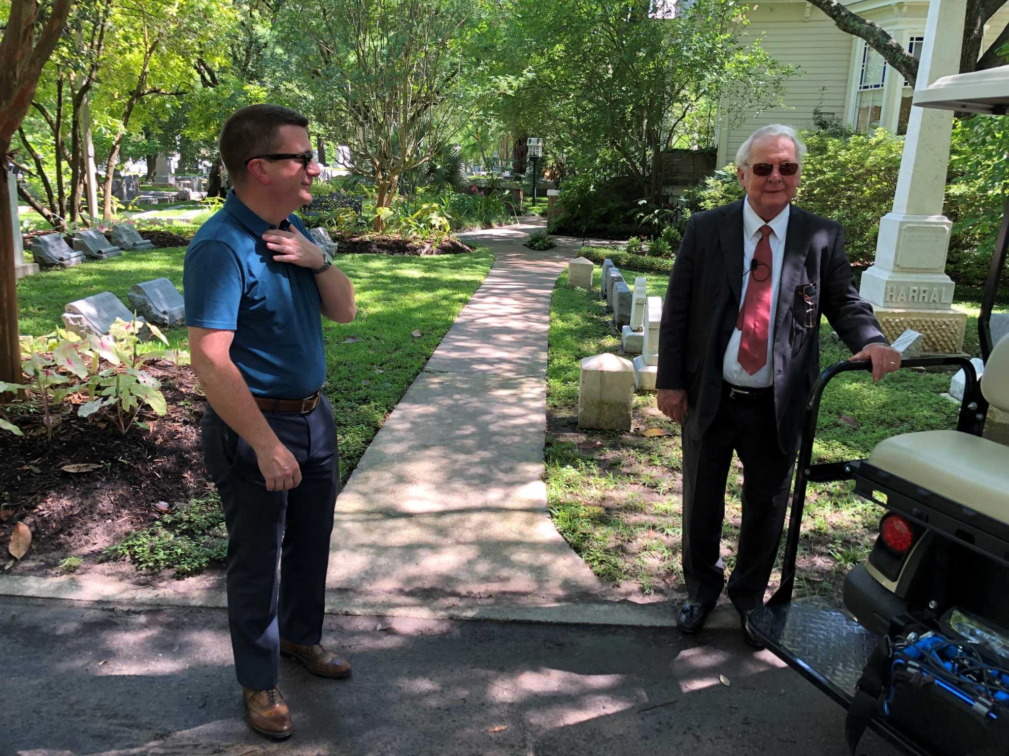 Glenwood Cemetery, resting place to Howard Hughes, gets an upgrade