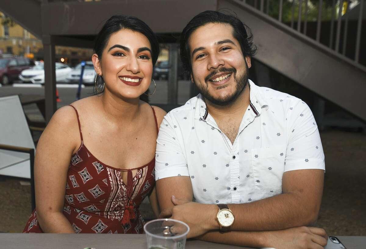Laredoans relax at Cultura Beer Garden on Saturday, Jun 22, 2019 during the Tex Mex Summer Fiesta.