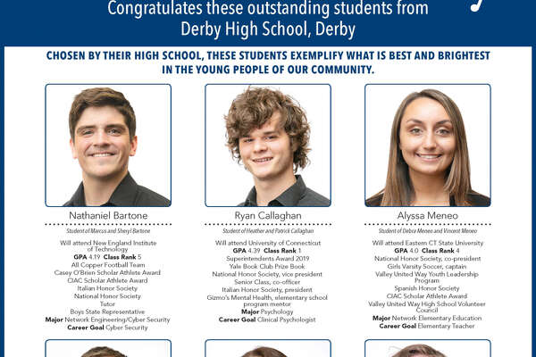 """The Register's annual """"Senior Spotlight"""" series, sponsored by Yale University, spotlights talented New Haven-area high school seniors and shares information about them and their dreams for the future."""