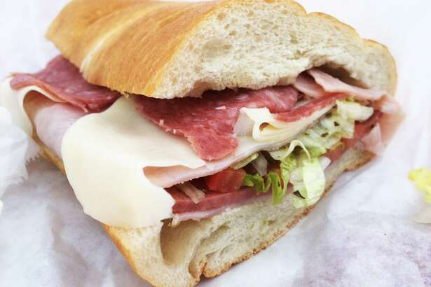 The Italian hoagie at Milazzo Italiano is made with two different types of salami, provolone cheese and an olive and canola oil mix.