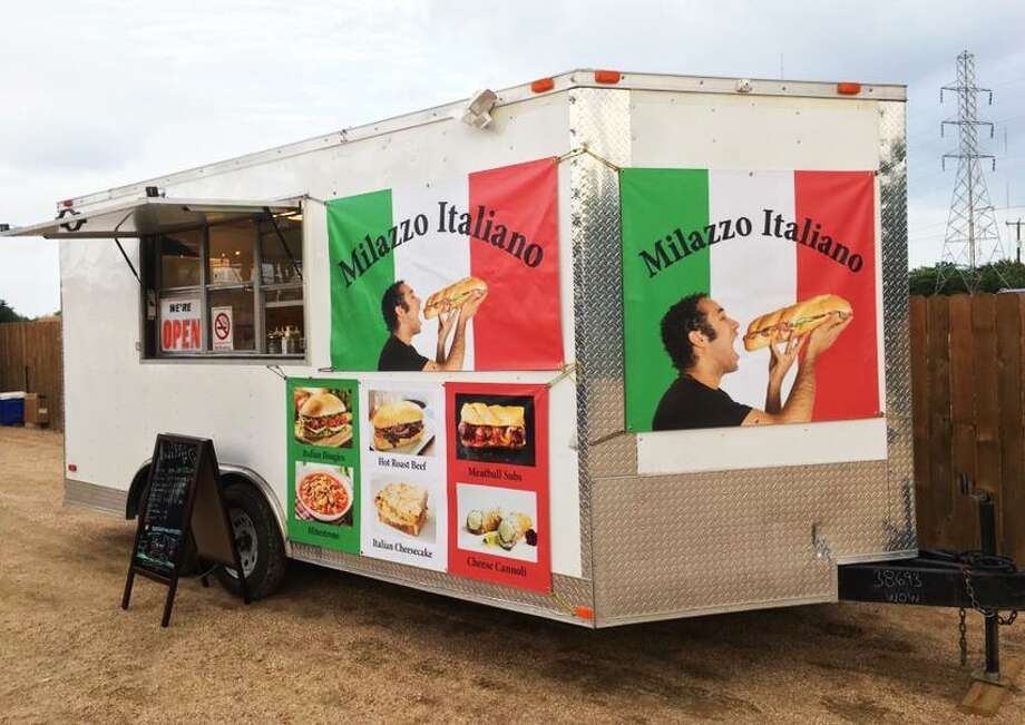 Milazzo Italiano is a new food truck from owner James Schemeley that features sandwiches, desserts and soups. Photo: Chuck Blount /Staff