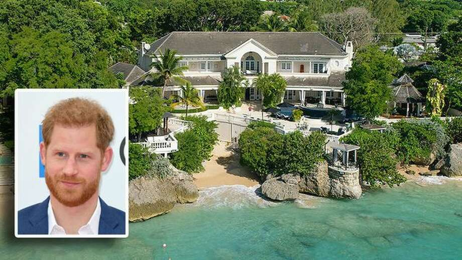 Prince Harry once stayed in an ultraluxe villa in Barbados that recently hit the market for a whopping $40 million. Photo: Hardings International; Getty Images