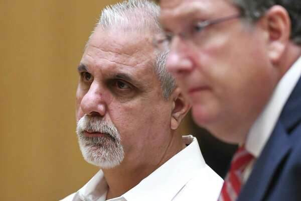 Former Stamford police officers Chris Broems, Mark Ligi, Paul Pavia and Dave Sileo were arraigned Monday on first-degree larceny charges for allegedly submitting 643 false payroll vouchers totaling $187,618.