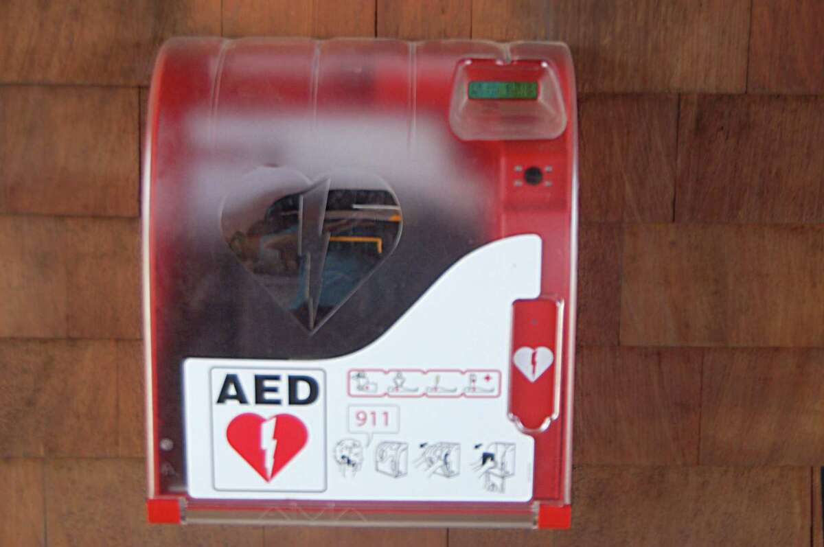 The new AED devices are installed at Greenwich Point.
