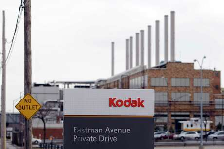 This Jan. 6, 2012 file photo shows a Kodak factory in Rochester, N.Y.