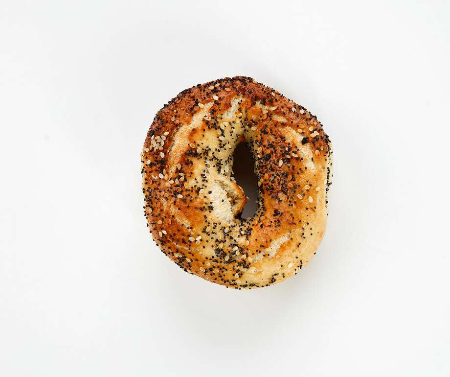 An everything bagel from Baron Baking is seen on Thursday, June 20, 2019 in San Francisco, Calif. Photo: Russell Yip / The Chronicle