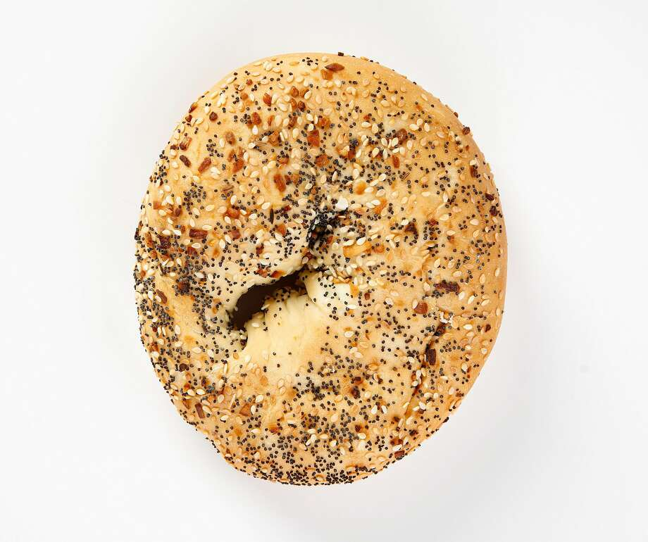 An everything bagel from Frena Bakery & Cafe is seen on Thursday, June 20, 2019 in San Francisco, Calif. Photo: Russell Yip / The Chronicle