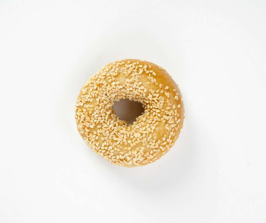 A sesame bagel from Odd Bagels is seen on Thursday, June 20, 2019 in San Francisco, Calif. Photo: Russell Yip / The Chronicle
