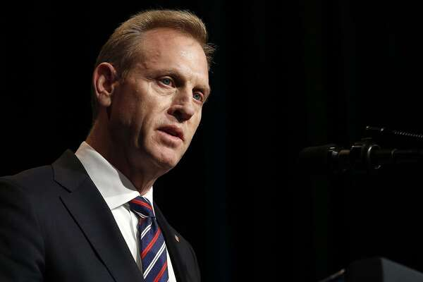 Acting Secretary of Defense Patrick Shanahan speaks during a Missile Defense Review announcement at the Pentagon in Arlington, Va., on Jan. 17. Shanahan has withdrawn from consideration to take over the job permanently. A reader questions the Trump Administration's process of vetting its cabinet members considering all the controversy.