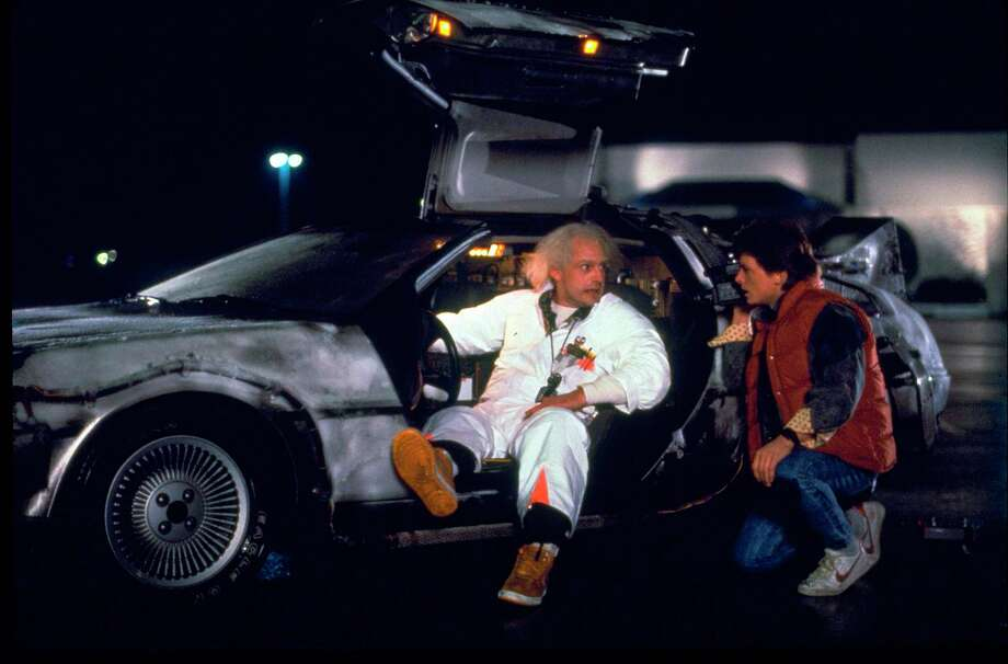 """""""Back to the Future"""" fans have a sweet Valentine's Day opportunity to watch the movie with a live performance of the score by the San Antonio Symphony. Photo: Associated Press / Universal Pictures Home Entertai"""