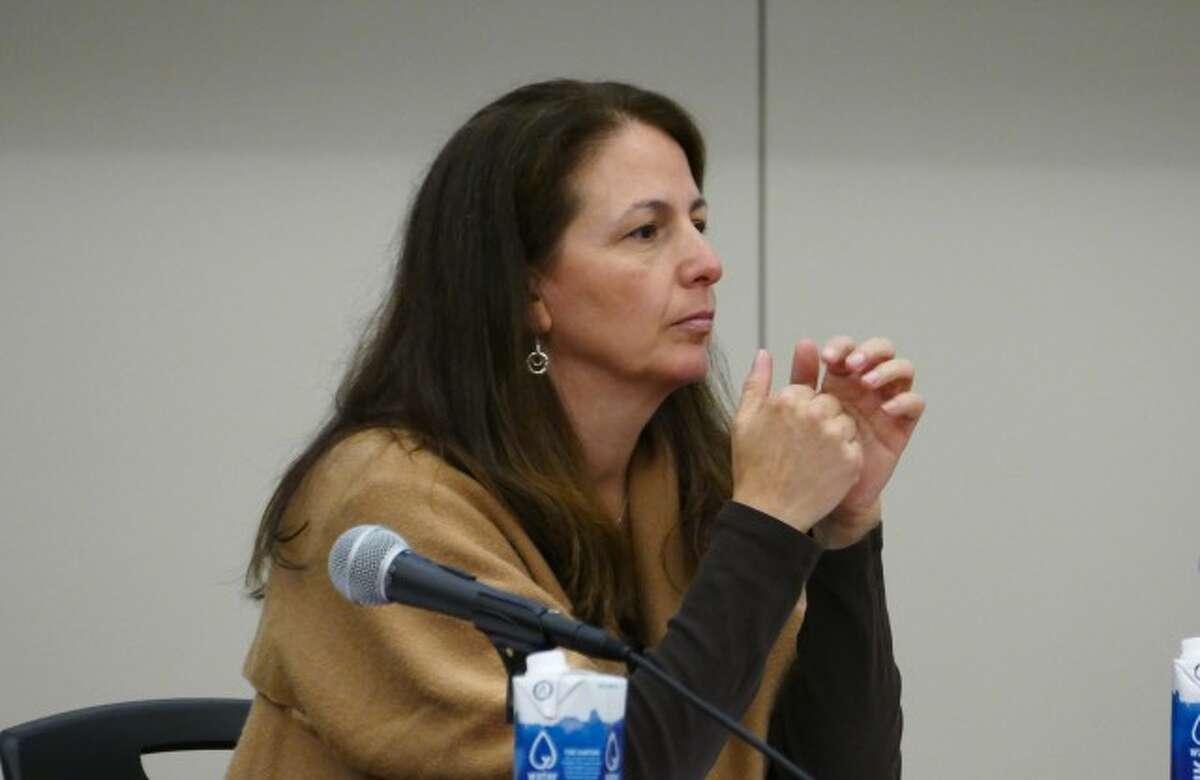Board member Maria Naughton.