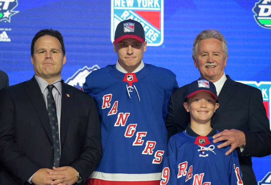 Kaapo Kakko was the second overall pick of the NHL Draft by the New York Rangers. Photo: Jonathan Hayward / Associated Press / THE CANADIAN PRESS