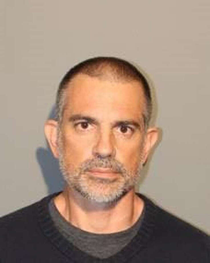 Fotis Dulos, 51, was arrested in connection with the disappearance of his estranged wife, Jennifer Dulos, a New Canaan mother of five. Fotis Dulos was charged with tampering with or fabricating physical evidence and hindering prosecution in the first degree. Photo: New Canaan Police / Contributed Photo