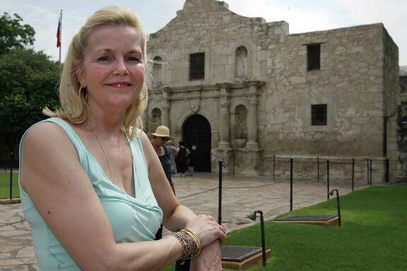 Erin Bowman, a member of the Daughters of the Republic of Texas, co-founded a nonprofit that now operates and raises money for the Alamo.