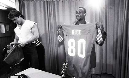 low priced 059fc 3635c See Jerry Rice's first photos as a 49er (taken after his ...