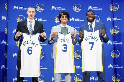Warriors' draft picks not lacking for confidence, competitive fire
