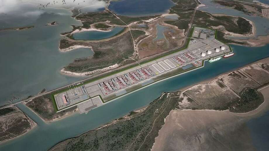 Houston liquefied natural gas company NextDecade is partnering with Candian pipeline operator Enbridge to build a planned natural gas pipeline to support the proposed Rio Grande LNG export terminal in Brownsville. Photo: Courtesy Photo / Rio Grande LNG