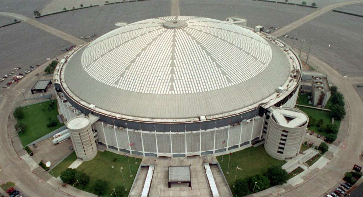 The Astrodome, as seen in a file photo taken on May 16, 1991.