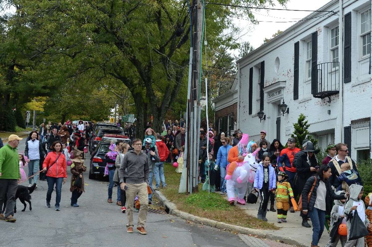 Parade comes down Park Street