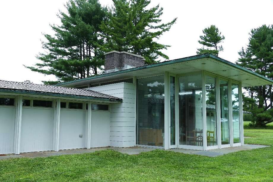 Irwin Park's Gores Pavilion in New Canaan, Connecticut will get a new slate roof. Gores Pavilion in Irwin Park in New Canaan, Connecticut. Contributed photo