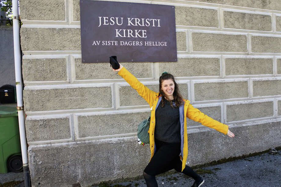 New Canaan High School graduate Hailey Wheeler returns from a mission trip in Norway this coming Sunday, Dec. 9, 2018. Hailey Wheeler