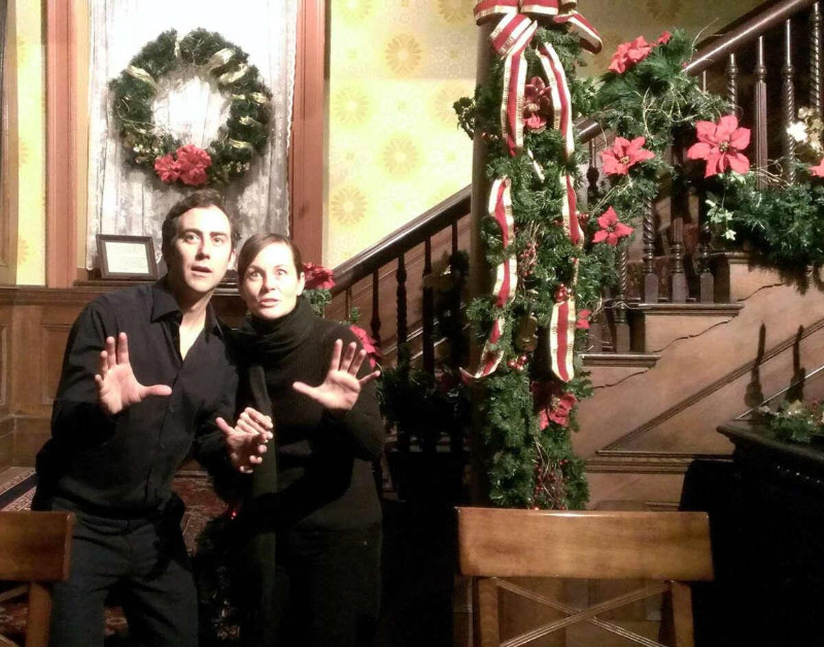 Joe and Therese Plummer perform Dickens' A Christmas Carol