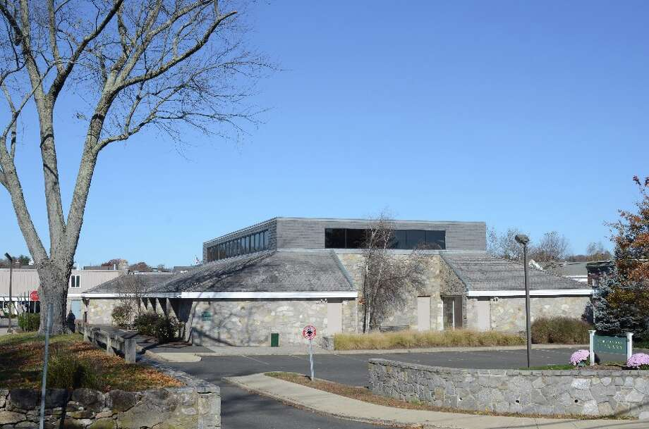 New Canaan Library seen from Maple Street. — Greg Reilly photo