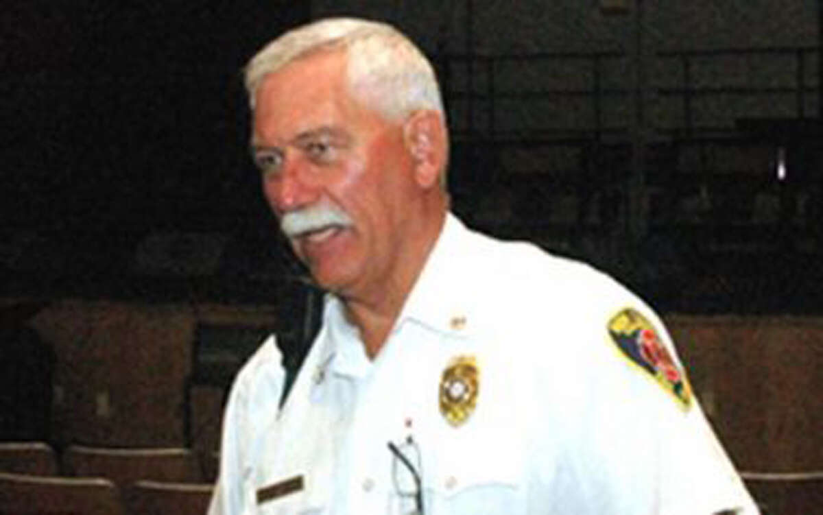 Fred Baker is New Canaan's fire marshal.