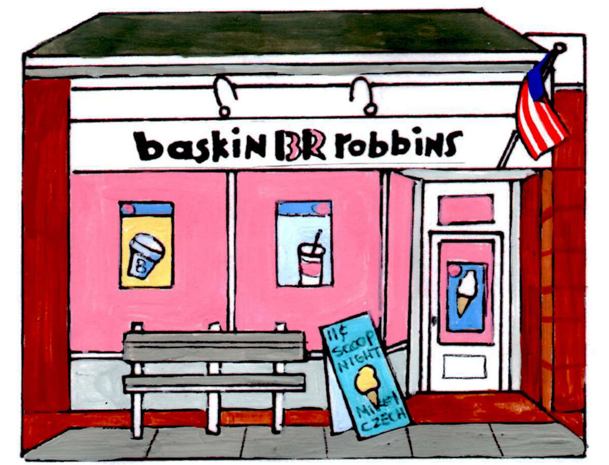 Illustration for Baskin-Robbins ornament. - Contributed photo