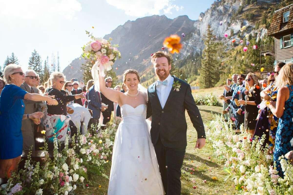 New Canaan: Nikki Bongaerts recently married Pete Magrath in Utah. Nikki Bongaerts and Pete Magrath