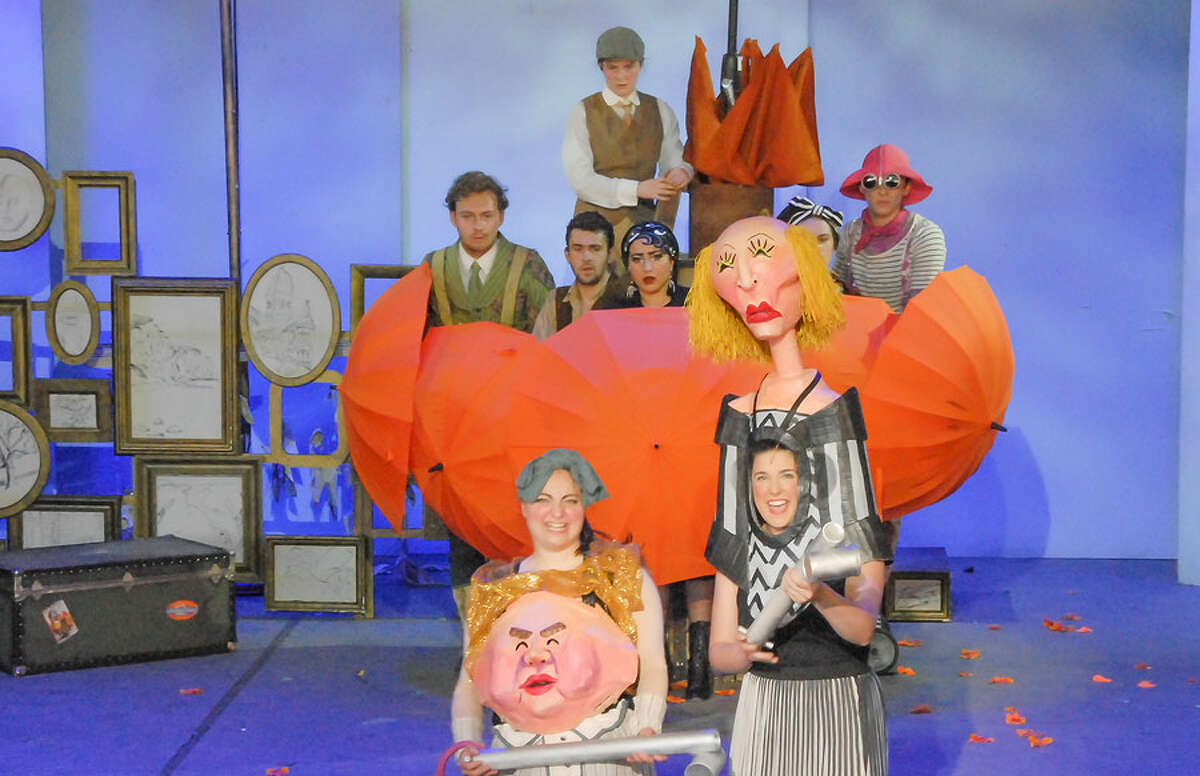 The Summer Theatre of New Canaan has wrapped up its 15th award-winning season. Actors perform James and the Giant Peach