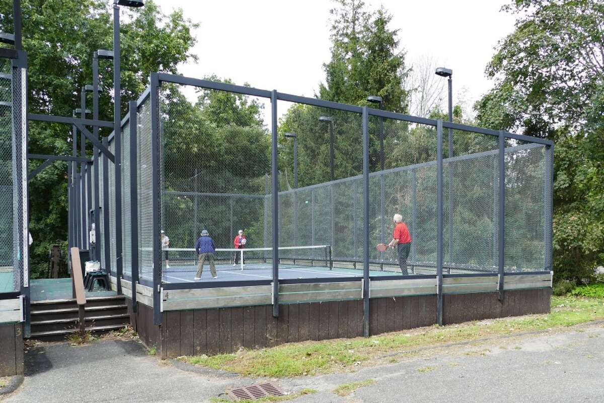 A fifth paddle court is expected at Waveny Park. - Grace Duffield photo