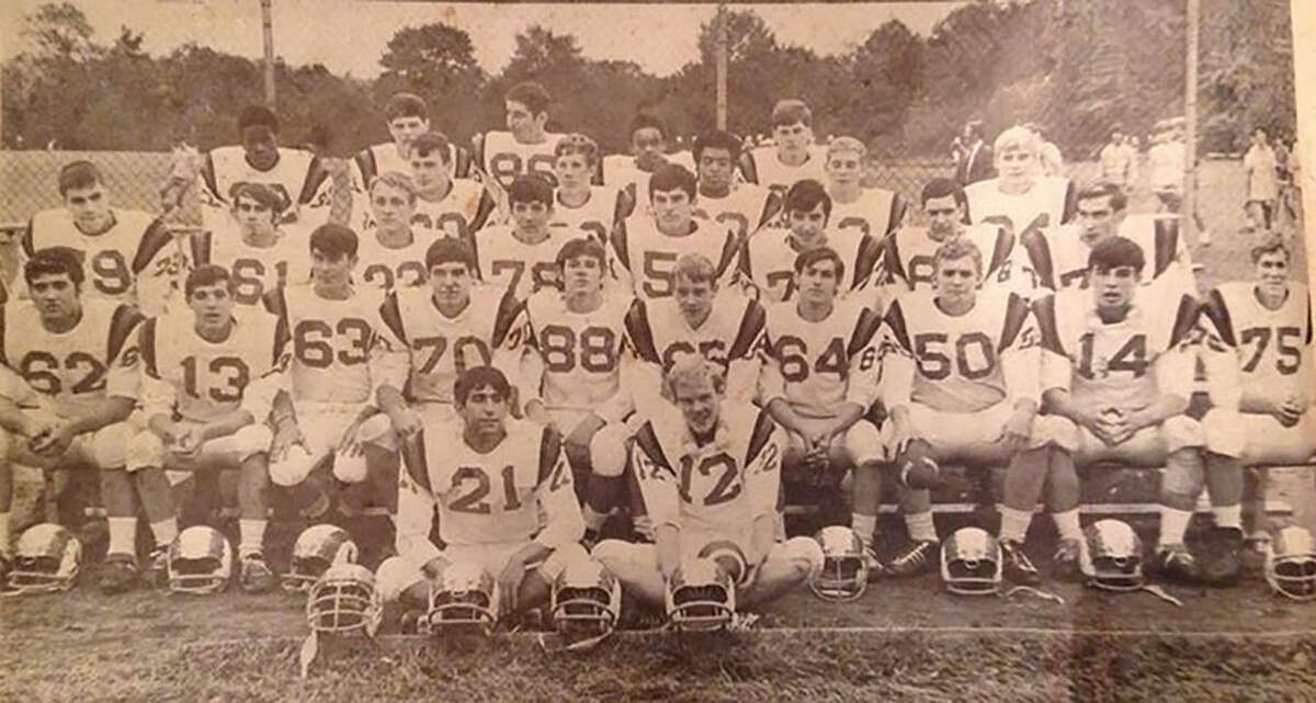 The 1968 New Canaan Rams, who went undefeated, are celebrating their 50th anniversary this year and will be honored at halftime of Friday's football game between New Canaan and Danbury at Dunning Field.