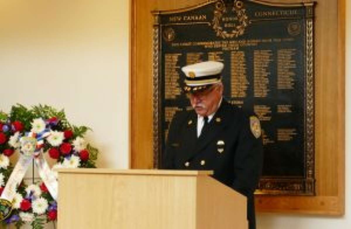 Fire Chief Jack Hennessey.