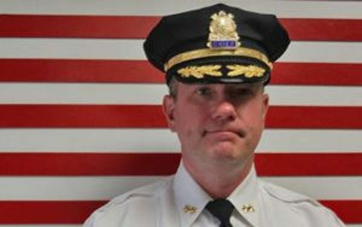 New Canaan Chief of Police Leon Krolikowski