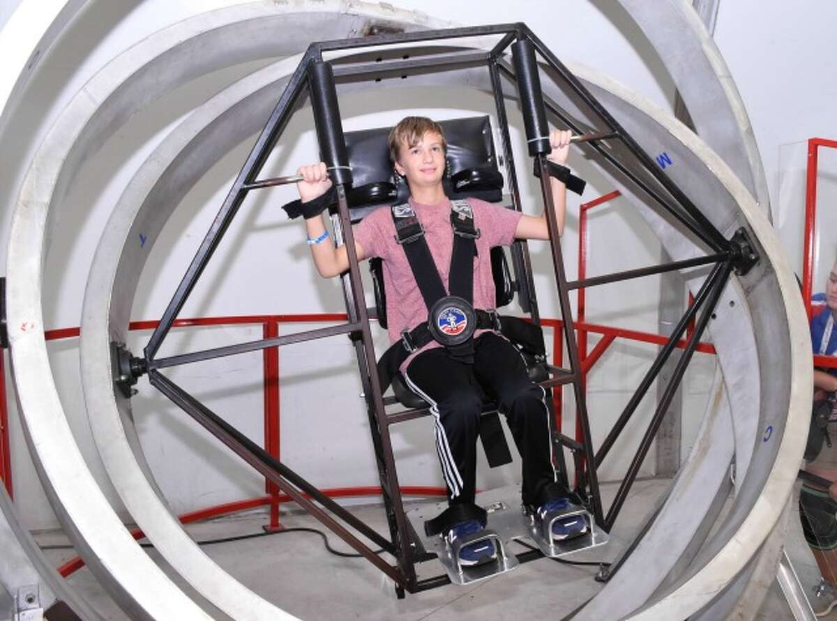 Trevor Anfindsen of New Canaan spent a week at Space Camp, training with a team that flew a simulated mission to the International Space Station.