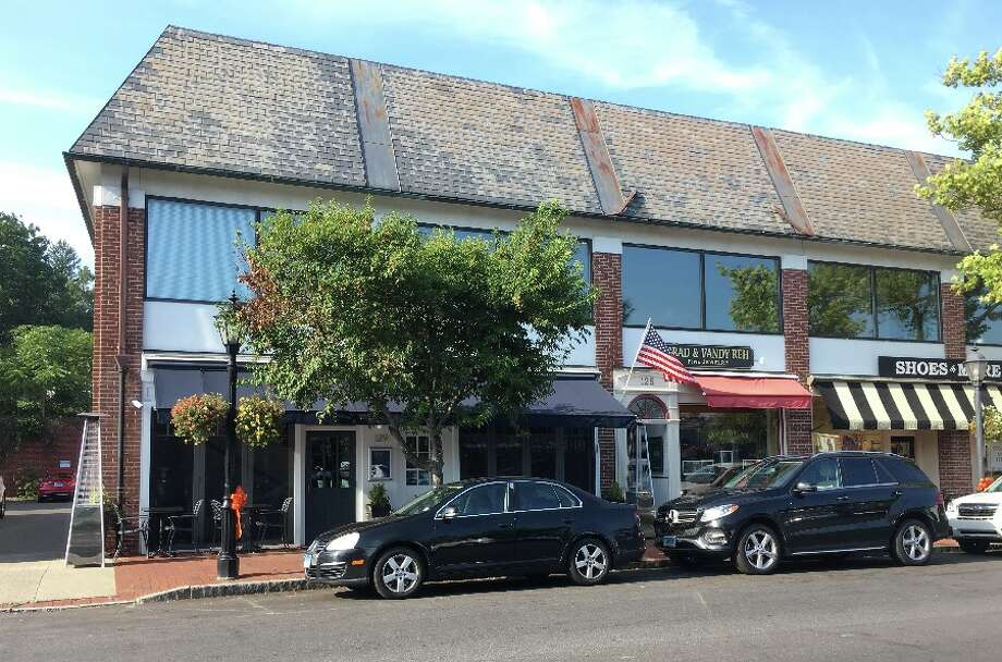 Baldanza's new location in New Canaan will be at the blue awning, left of the American flag and across the street from Francos Wine Merchants. — Greg Reilly