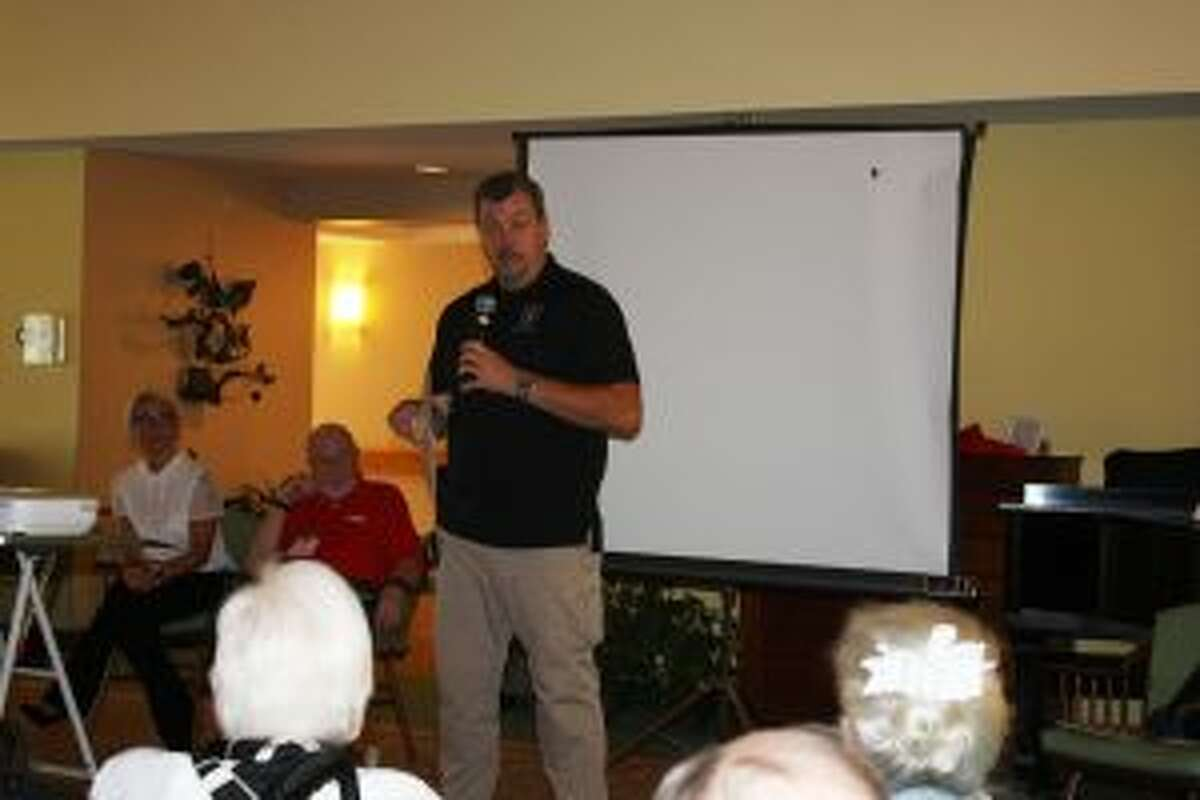 Experts recently talked of identity theft prevention at The Inn at Waveny in New Canaan.