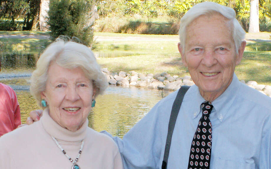 Nancy Appleton Stock Sessions and her husband Bill Sessions.