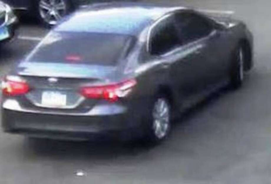 New Canaan Police are looking for information about this vehicle.
