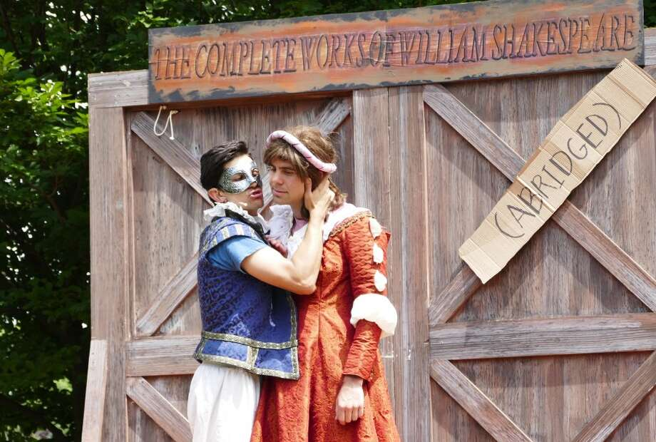 Romeo and Juliet was just one of 37 Shakespeare's plays that were ziplined through with language and garb cobbled from Renaissance to modern. — Grace Duffield photo