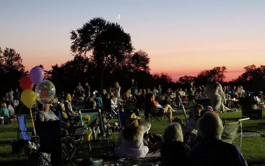 The scene from a Waveny Concert last summer. — Contributed photo by Kile Keever