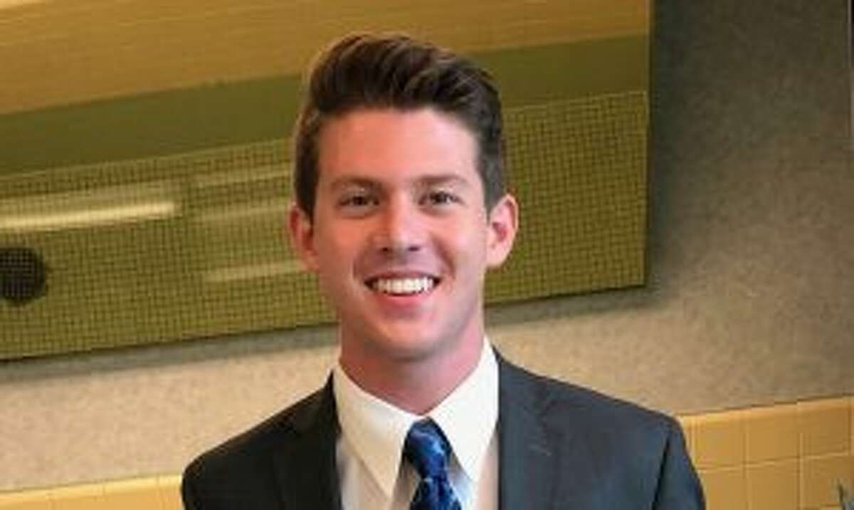 New Canaan: A resident is going to leave for a two-year church mission in Arkansas. Connor McDevitt